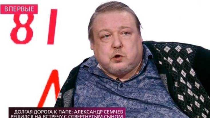Телеканал покажет встречу актёра Семчева с отвергнутым брянским сыном