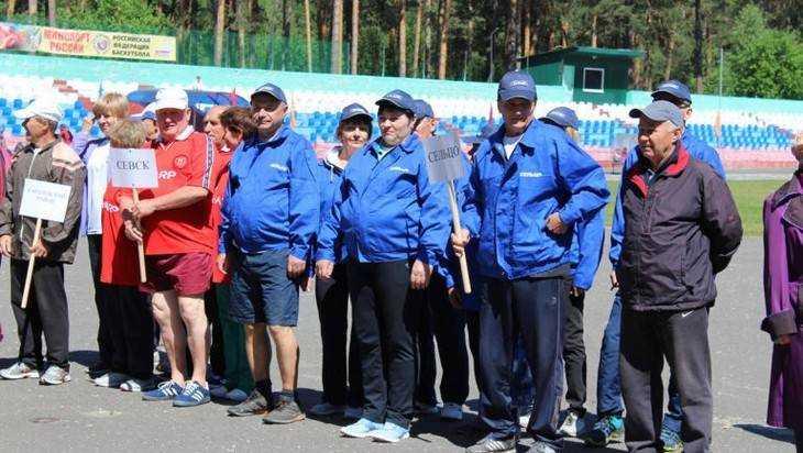 В Сельцо открылась пятая областная спартакиада бодрых пенсионеров