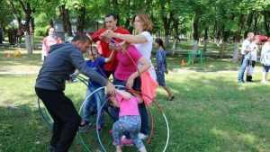В Брянске прошел спортивный праздник «Великолепная семья-2018»