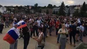 В Брянске на набережной 19 июня покажут матч сборной России по футболу