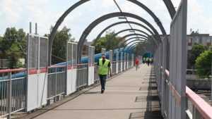 На станции Брянск-Льговский открыли новый пешеходный мост