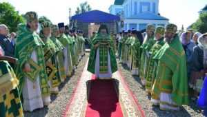 В Брянской области прошло торжество прославления Василия Площанского