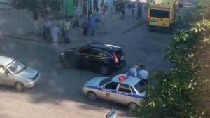 В Брянске легковушка сбила девочку на пешеходном переходе