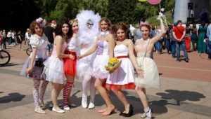 В Брянске отменили утративший популярность парад невест