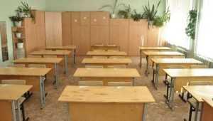 В Рогнединском районе суд временно закрыл аварийную школу