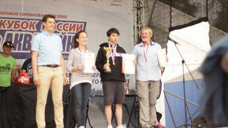 Брянская спортсменка заняла второе место на кубке России по аквабайку