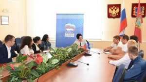 Депутат Государственной Думы Миронова встретилась с брянской молодёжью