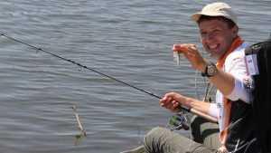 В Брянске на набережной провели Кубок области по рыболовному спорту
