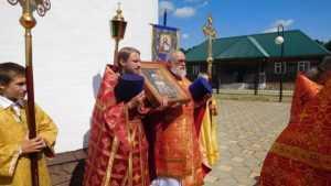 В брянском храме совершили соборное богослужение в день памяти святой Антонины