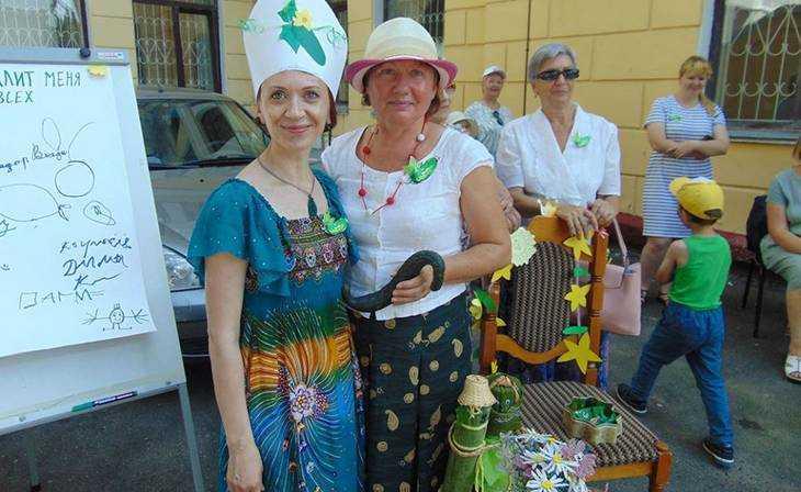 Весёлые брянцы отметили вкусный и добрый праздник День огурца