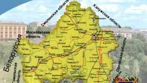 Брянская и Смоленская области согласовали границы между регионами