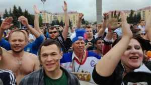 В Брянске матч Россия – Хорватия покажут 7 июля на площади Партизан