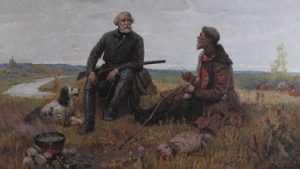 В музее «Овстуг» откроется выставка «Охота питала и литературу»