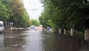 Власти Брянска объявили о масштабном строительстве ливневок в городе