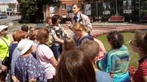 В Брянске первая экскурсия по тютчевским местам привлекла 35 человек