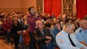 У жителей Бытоши остались грустные мысли после десанта чиновников