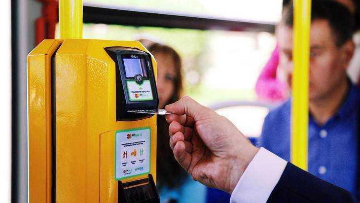 В Брянске пассажиры будут оплачивать проезд картами и браслетами