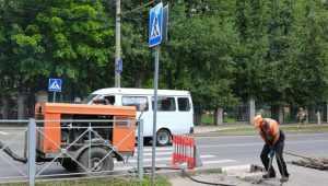 В Брянске отремонтировали тротуары на четырёх улицах