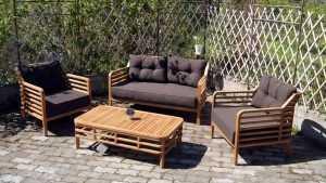 Идеальная мебель для внутреннего двора