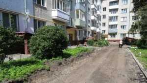 В Брянске 18 дворов отремонтируют за 128 млн рублей