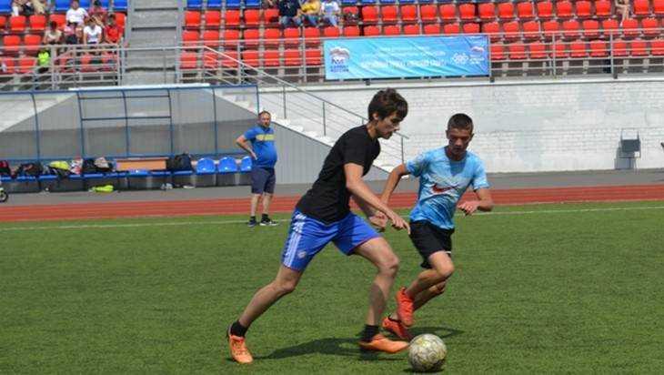 В рамках проекта «Детский спорт» в Трубчевске открылся футбольный турнир