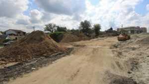 В Брянске расширение дороги на Городищенской горке завершат в ноябре