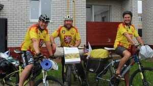 Любознательные велотуристы из Чехии побывали в Стародубском районе