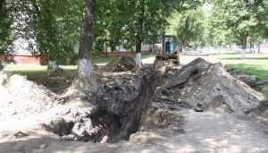 В Брянске на Московском проспекте построят еще 1,5 километра ливнёвки