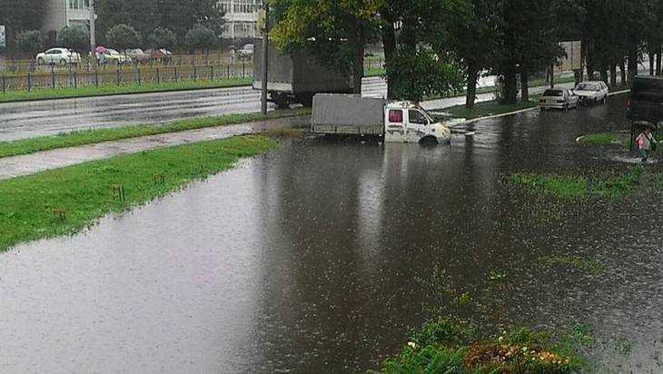 МЧС назвало причину подтоплений Брянска после ливней