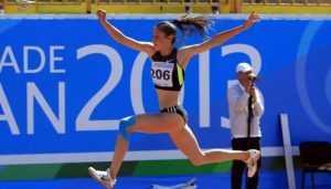 Брянская прыгунья Дарья Нидбайкина завоевала «серебро» на чемпионате России