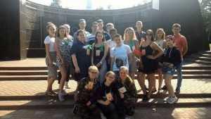 Молодежь из Латвии прошла памятными партизанскими тропами Брянщины