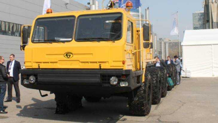 Брянский автозавод начал поставлять машины нефтяникам