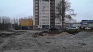 Названа причина приостановки строительства дороги на улице Романа Брянского