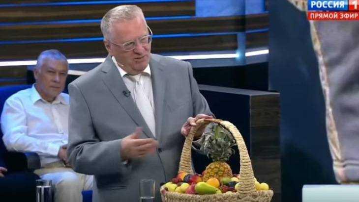 На телеканале «Россия» Жириновский похвалил брянскую картошку