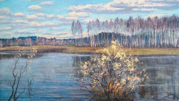 Брянцам покажут победную выставку картин художника Николая Енина