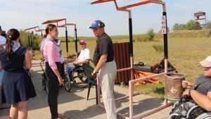 В Брянске провели турнир по стендовой стрельбе среди инвалидов