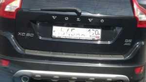 В Брянске заметили мастера маскировки номеров автомобиля