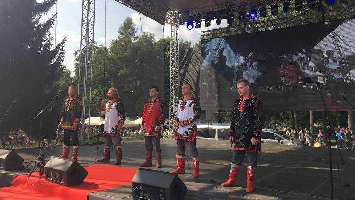 Брянский ансамбль «Бабкины внуки» спели в Словакии
