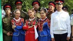 В Брянске прошел международный фестиваль казачьей культуры