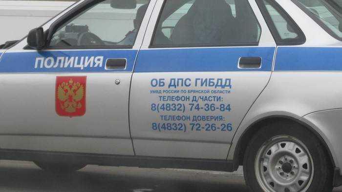 В Брянске на улице Фокина Mazda сбила на тротуаре 28-летнюю женщину