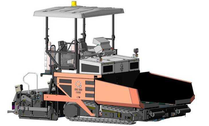 Компактный асфальтоукладчик создан инженерами в Брянской области