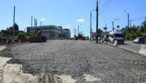 В Брянске ревизоры проверили строительство дороги на Городище