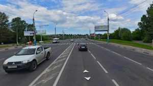 В Брянске новый светофор ограничит скорость на Московском проспекте