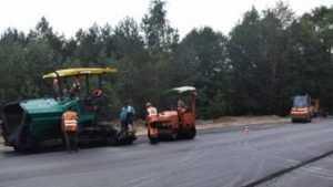 На Брянщине приступили к завершению ремонта трассы Сураж – Унеча