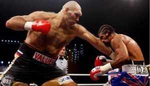 Николай Валуев рассказал о боксёрских грушах для Брянска