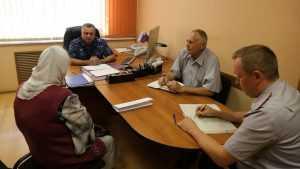 Руководители брянского УФСИН и правозащитник провели прием граждан