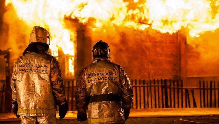 В посёлке Толмачево при ночном пожаре погибли мужчина и женщина