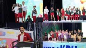 Сборная весёлых и находчивых брянцев сыграла в КВН в «Артеке»