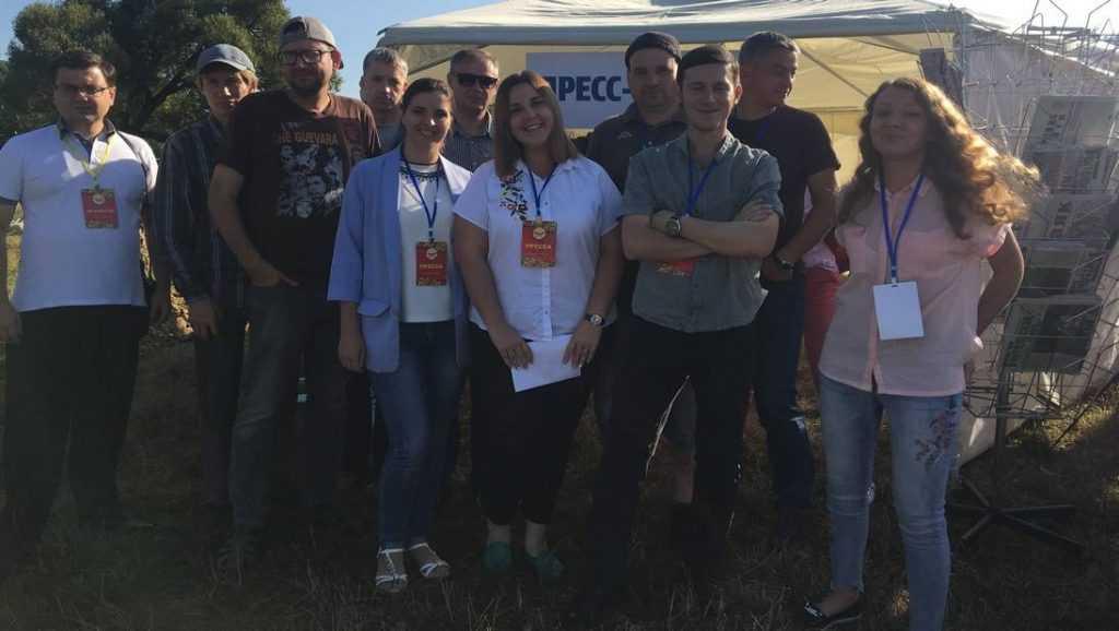 На Свенской ярмарке под Брянском заработал пресс-центр