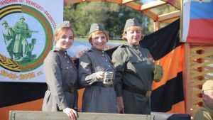 На Свенской ярмарке подворья посвятили 75-летию освобождения Брянщины